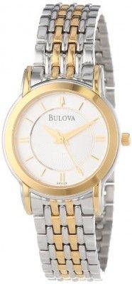 Relógio Bulova Women's 98V29 Bracelet Watch #Relogios #Bulova