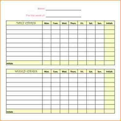 9+ chore chart templates | academic resume template