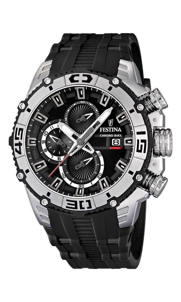 NEW Festina Chronograph Bike TOUR DE FRANCE 2012 Men's Watch F16600/2