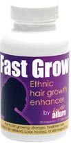 Fast Grow Hair Vitamins for African hair, black hair, ethnic hair types!  Grow long hair naturally! #africanamericanhair #teamnatural