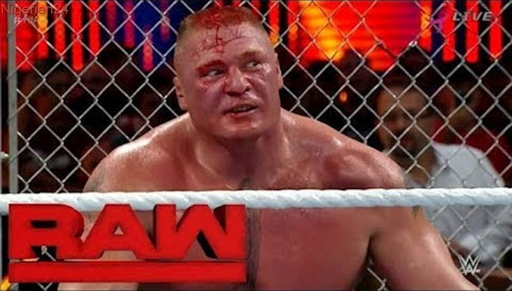 WWE Raw 11 September 2017 Highlights Brock lesnar goes Hell in a Cell 2015