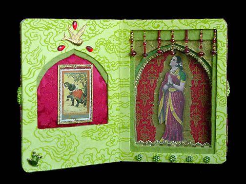 Saraswati Reliquary - Karen Hatzigeorgiou