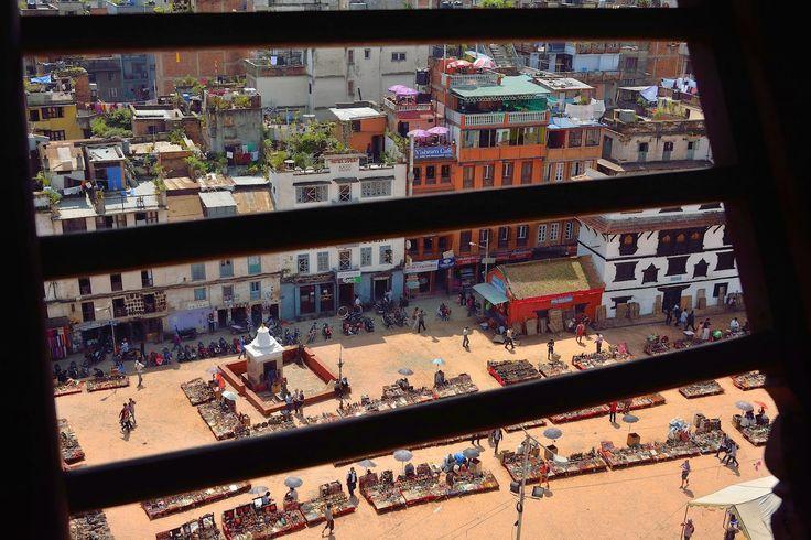Marina Magro: dal Palazzo Reale di Katmandu, ora un cumulo di macerie