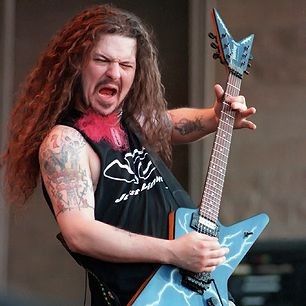 #December8_2004 everyone in heavy metal heard the shot that shocked the community.  #pantera guitarist #dimebag was murdered on stage.  My cousin Cara met Dime one year (seen the photos and a double take.)