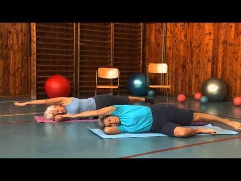 Bederní páteř - Cvičením proti bolesti - 4. díl - YouTube
