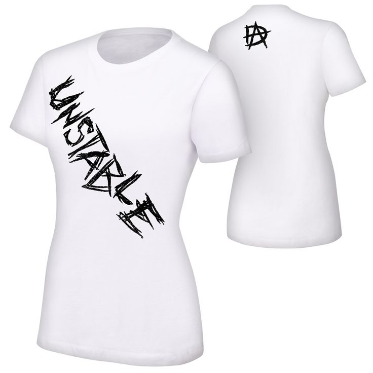 "Dean Ambrose ""Unstable"" Women's Authentic T-Shirt"