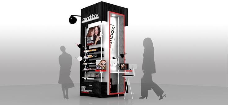 smashbox cosmetics - display