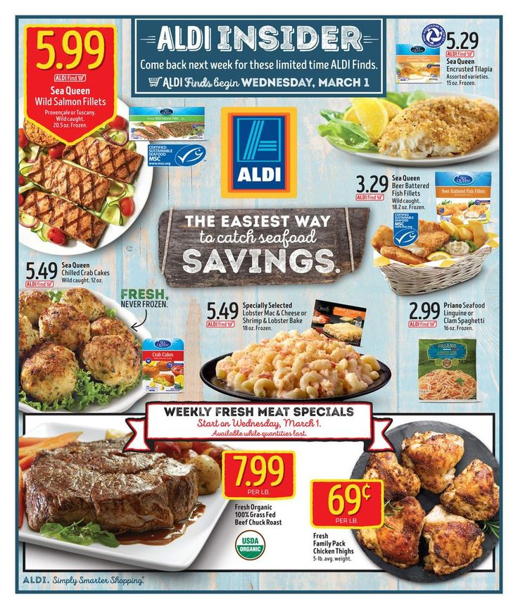 ALDI USA In Store Ad Circular Mar 1 - 7 United States #grocery #food #Aldi