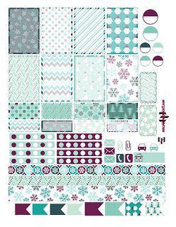 A Sugar Plum Christmas Planner Sticker Printable | @planner.PICKETT | Bloglovin'