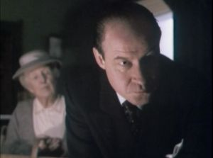 """""""Why do I smell tea and garening supplies?  Miss Marple, """"Murder at the Vicarage"""""""
