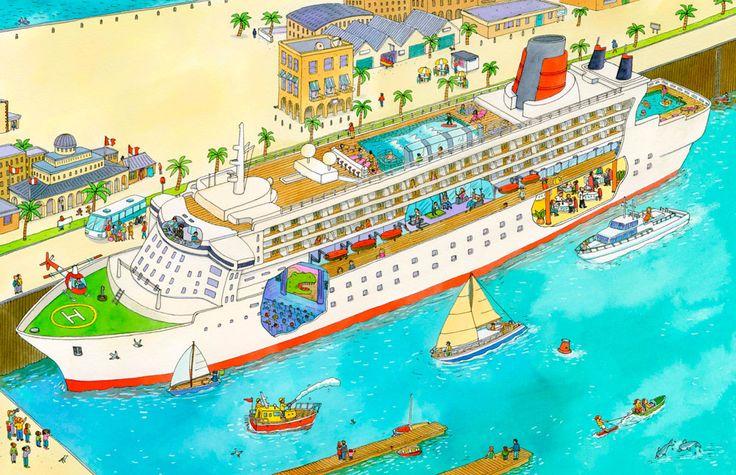 Praatplaat boten-vakantie