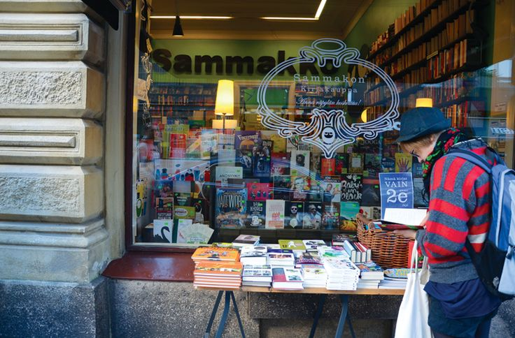 Sammakko bookstore - Turku.