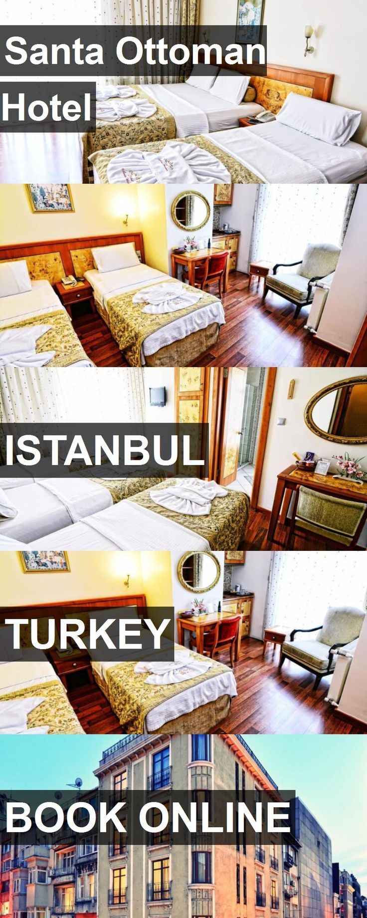 Hotel Santa Ottoman Hotel in Istanbul, Turkey. For more information, photos, reviews and best prices please follow the link. #Turkey #Istanbul #hotel #travel #vacation