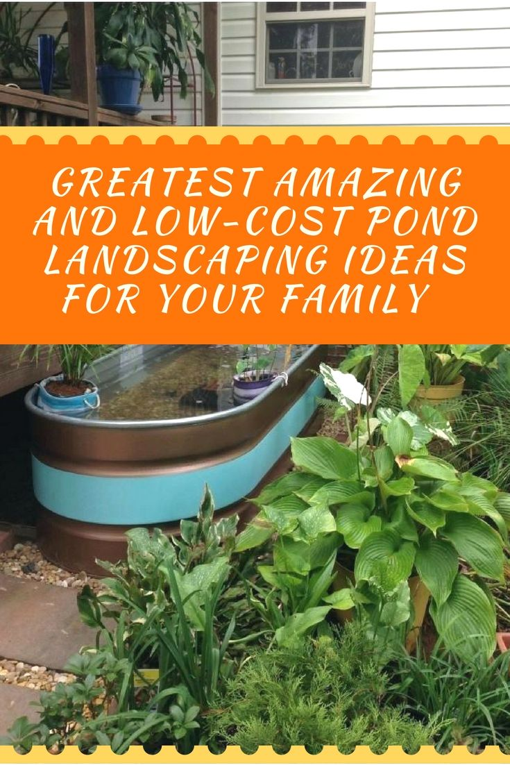 Amazing backyard pond landscape ideas you will enjoy ponds