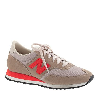 burnt crimson is the best color selection! J.Crew - Women's New Balance® for J.Crew 620 sneakers