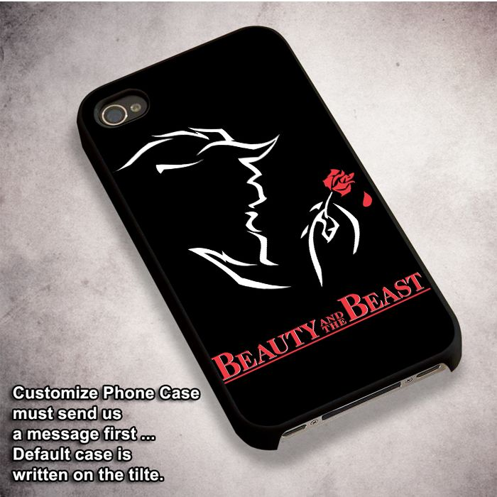 Beauty And The Beast Logo - For iPhone 4/ 4S/ 5/ 5S/ 5SE/ 5C/ 6/ 6S/ 6 PLUS/ 6S PLUS/ 7/ 7 PLUS Case And Samsung Galaxy Case