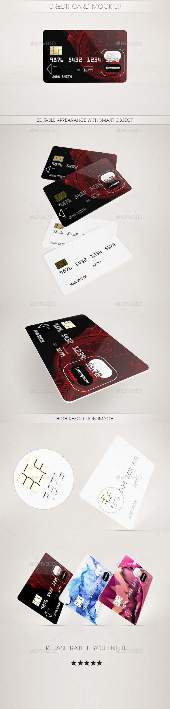 Credit Card MockUp #design Download: http://graphicriver.net/item/credit-card-mock-up/11718045?ref=ksioks