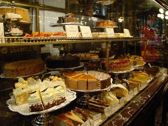 Cafe Demel, Vienna. This is a must!!! One of the oldest chocolate shops in Vienna. An amazing place for coffee, cakes and chocolate! This is where I got all my gifts for friends and family back home.