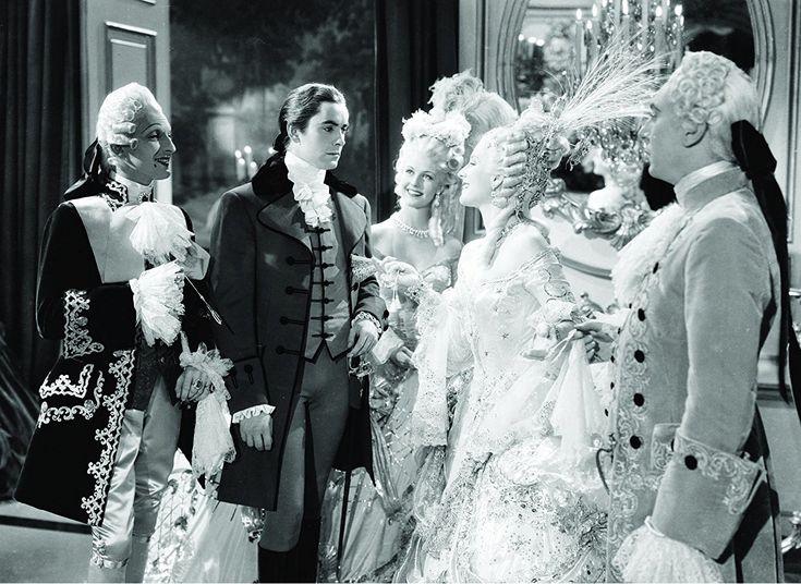 Tyrone Power, Reginald Gardiner, Anita Louise, Joseph Schildkraut, and Norma Shearer in Marie Antoinette (1938)