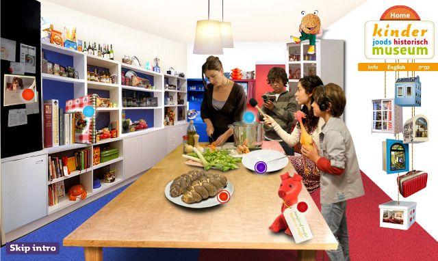 Leer over de joodse traditie terwijl je brood vlecht in de keuken, Hebreeuws leert in de studeerkamer of muziek maakt in de muziekkamer. In het atelier kun je schilderen, dansen en knutselen.