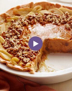 Your Belly Needs This Apple-Pumpkin-Pecan Pie