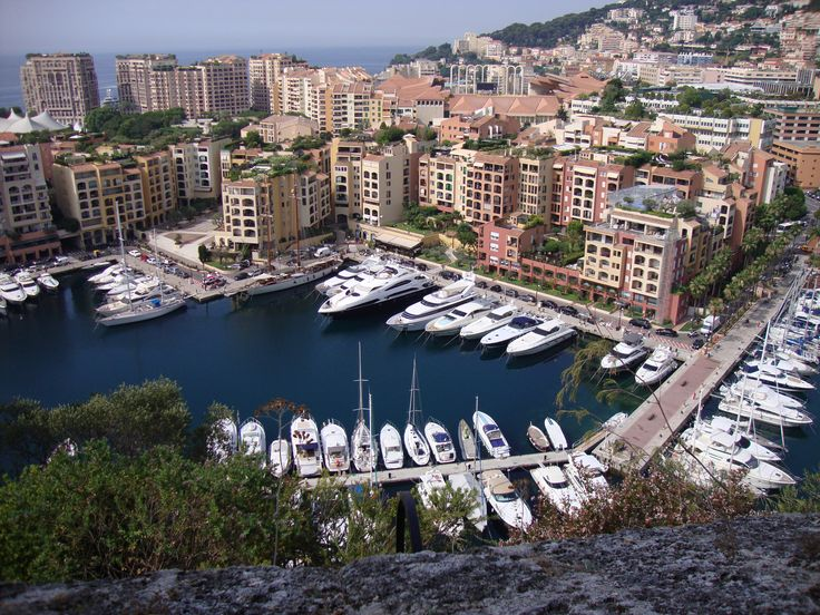 Monaco, France - Mediterranean Cruise - land of luxury (mine is the big white one in the middle... :)  )
