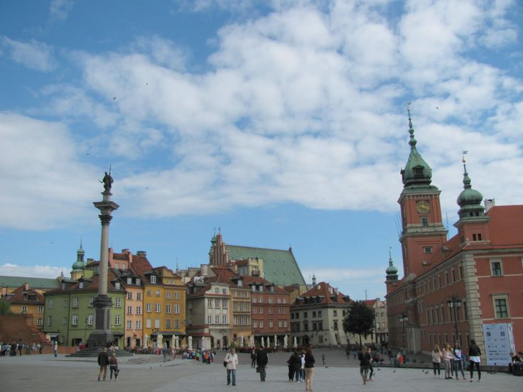 King Zygmunt's Column and Royal Castle, Warsaw