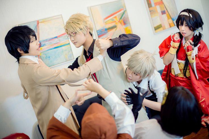 Bungou Stray Dogs, group cosplay =^_^= !!!探偵社の日常 - HIRO(HIRO☆) Kyoka Izumi Cosplay Photo - Cure WorldCosplay