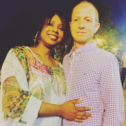 I love my king  and he loves his queen!! Nice looking Interracial dating couple #love #wmbw #bwwm #interraciallove #Interracialrelationships #interracialmarriages #interracial-dating-sites.com