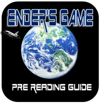 "Looking for a new novel study? If you have middle school or high school students, Ender's Game may be the perfect book to increase motivation and interest. This is the perfect set of worksheets to help guide you and your students through the pre-reading discussions for Ender's Game.What makes something science fiction?Who is Orson Scott Card? Where is this story set? What are ""diction,"" ""dialect,"" and ""slang,"" and how will you see them used in the book? Everything..."