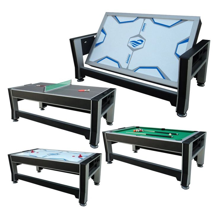 Triumph Sports 84 in. 3-in-1 Rotating Game Table - 45-6066