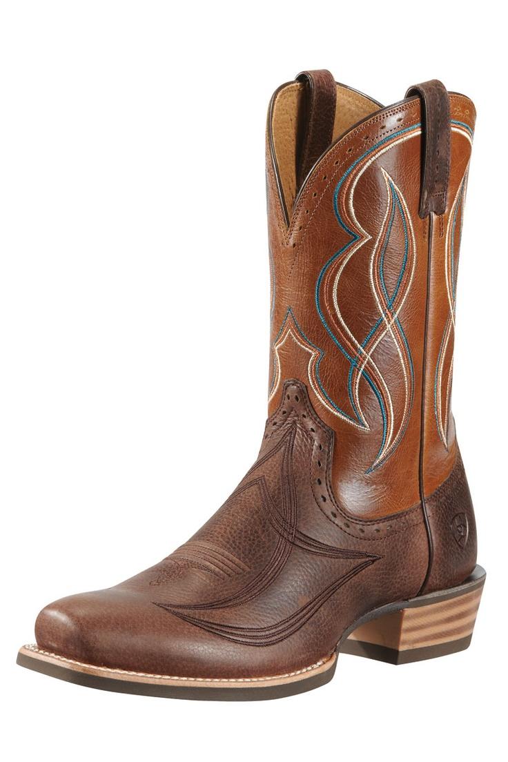 Ariat Men's Regulator Rollin Brown Coyote Cowboy Boots