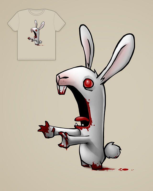 Zombie Bunny Shirt Zombies Zombie Bunny Bunny Und Rabbit