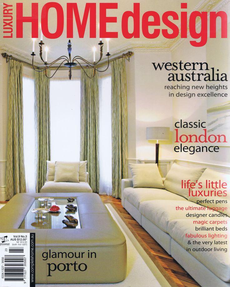 Luxury Home Design Vol 9 No 3 Cover Brooke Aitken Design