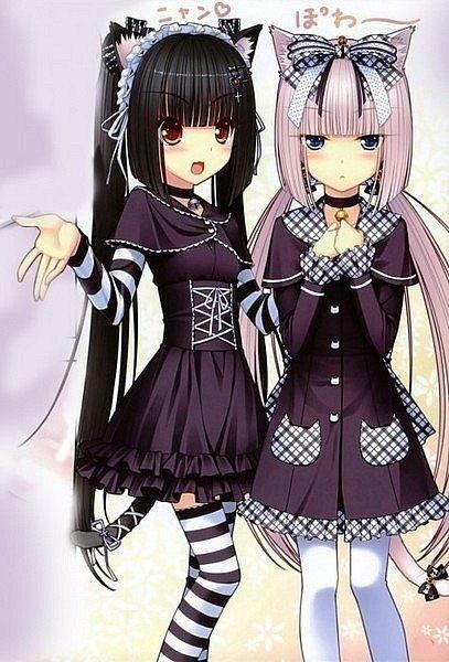 #anime #neko #animegirl Cute Anime Neko Girl
