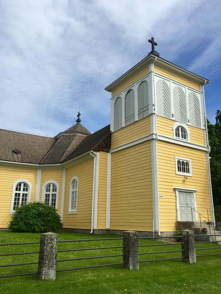 Eräjärven kirkko kesällä 2017
