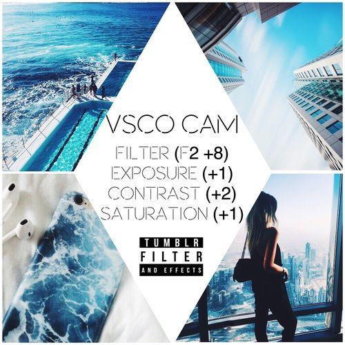 Imagem de filter and vsco