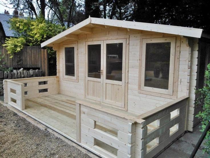 Hardcastle - 4.8M Wide [ 44mm log] - Log Cabins
