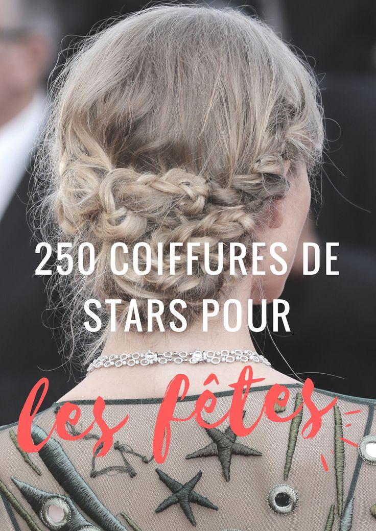 Pour les fêtes de fin d'année, on s'inspire des stars ! #coiffure #stars #Noël #fêtes #aufeminin