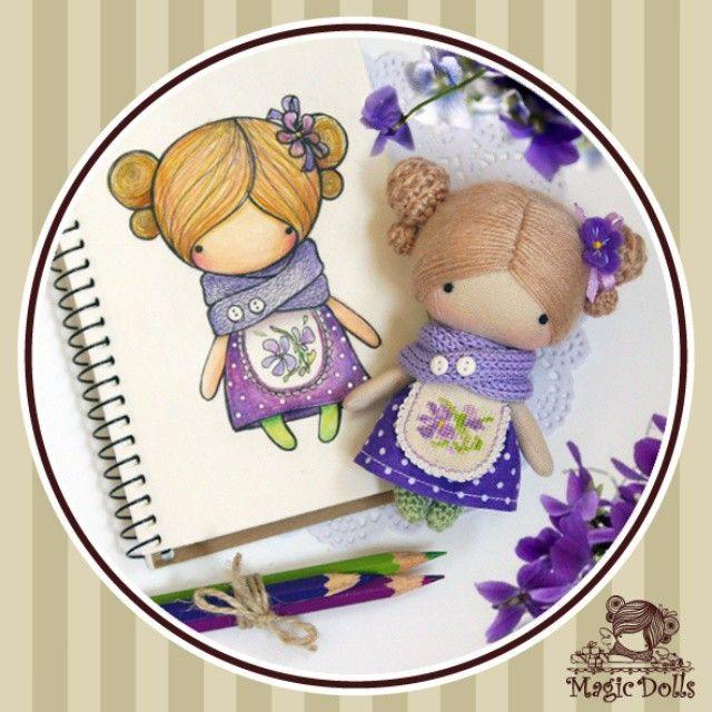 Ma Petite Poupee - Wild Violet