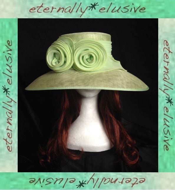CAPPELLI CONDICI Special Occasion Hat Wedding Mother Of The Bride Groom Races 21