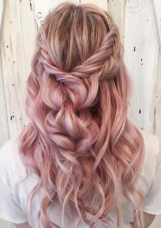 38 Cute Pastel Braids Hair Ideas for 2018 On of my fav  be inspired Follow me Pinterest@Chanel Monroe Instagram chanelmonroe365