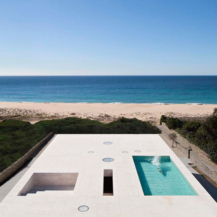 Spanish Architect Alberto Campo Baeza Has Built U0027house Of The Infiniteu0027, A  Radical Residential Property Positioned At The Edge Of The Atlantic Ocean.