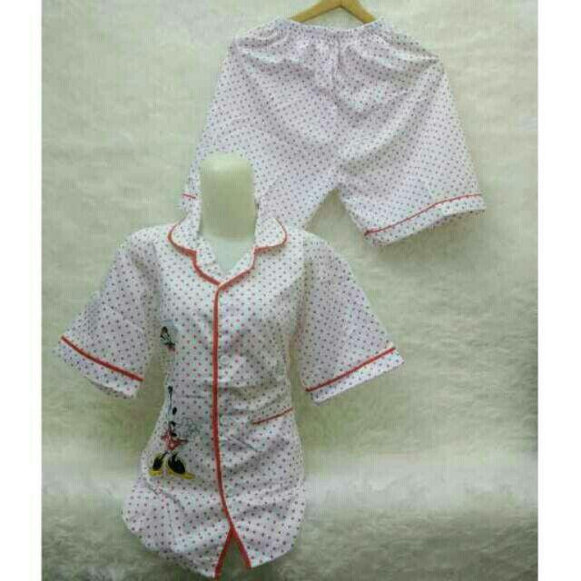 Saya menjual Kaos wanita / tk piyama polka oren fit L besar / stelan baju tidur seharga Rp75.000. Dapatkan produk ini hanya di Shopee! https://shopee.co.id/ssfashionkaos/391915241/ #ShopeeID