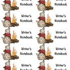 Camping Themed Writer's Notebook Journal Labels