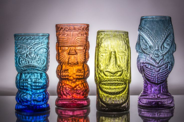 The tiki mug, remade in hand-blown glass