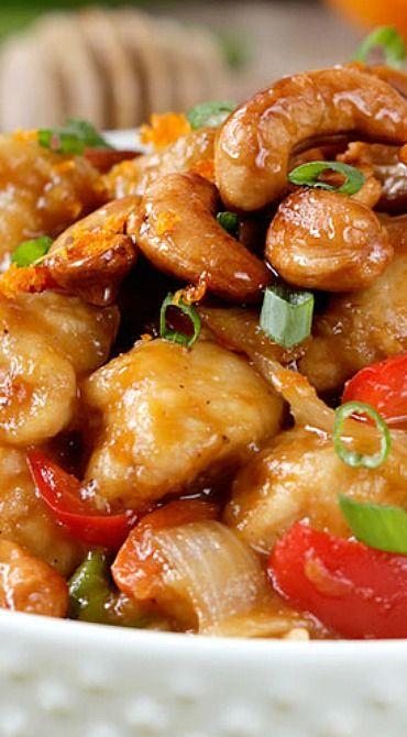 Caramelized Cashew Chicken Stir Fry