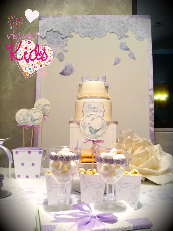 Visi Vici- Kids | Baby Girl party and the birds