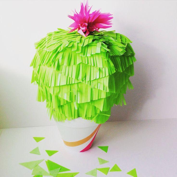 Piñata Cactus para los que tenemos cactusfever !!!