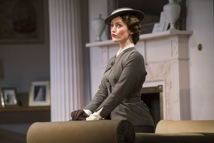 Ruth McGill as Barbara Fawcett in The Constant Wife by W. Somerset Maugham at the Gate Theatre. Photo by Pat Redmond.